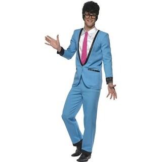 "Mens Teddy Boy Fifties Adult Halloween Costume - medium (38-40"" chest)"