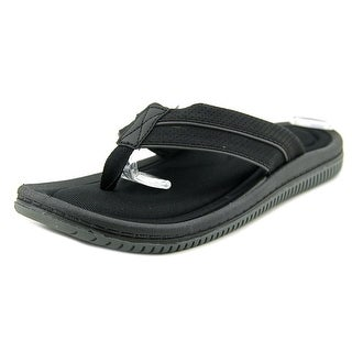 Aldo Gistin-97 Men Open Toe Synthetic Black Thong Sandal
