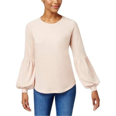 Style&Co. Womens Bishop Sleeve Sweatshirt