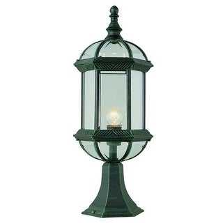 Trans Globe Lighting 4182 Single Light Up Lighting Outdoor Pier Mounted Post Light from the Outdoor Collection
