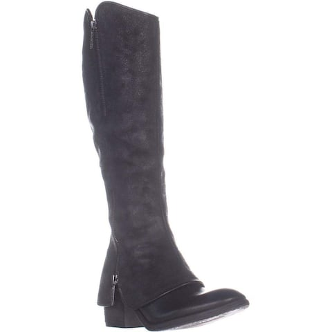 Donald J Pliner Womens Devi7 Round Toe Knee High Fashion Boots