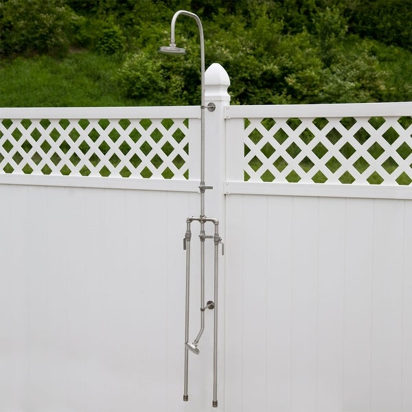 Shop Signature Hardware 258592 Deluxe Outdoor Shower Mixer Shower