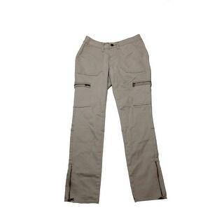 Earl Jeans Oxford Khaki Cargo Skinny Leg Pants - 6
