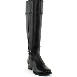 Michael Michael Kors   Harland Wide Shaft Riding Boot   Black - 5 WS