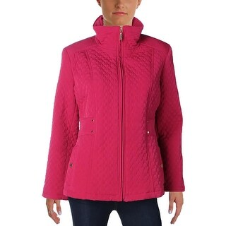 Gallery Womens Petites Jacket Outerwear Quilted - pl