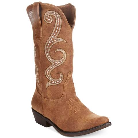 American Rag Womens Dawn Almond Toe Mid-Calf Cowboy Boots