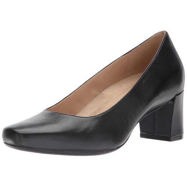 Naturalizer Womens Keela Leather Closed Toe Classic Pumps