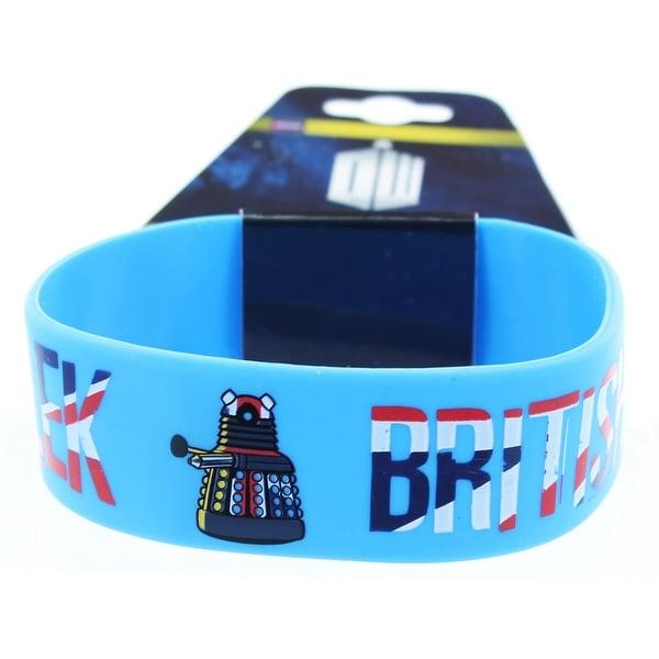 Doctor Who Rubber Wristband Dalek British Invasion