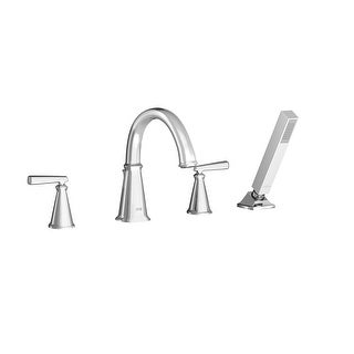 American Standard T018.901  Edgemere Deck Mounted Roman Tub Filler with Built-In Diverter