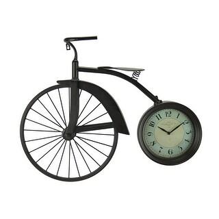 Vintage Look Penny Farthing High Wheeler Bicycle Wall Clock