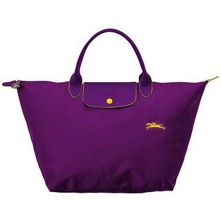 Link to LongChamp Womens Le Pliage Club Top Handle Handbag Medium Violet Purple Similar Items in Shop By Style