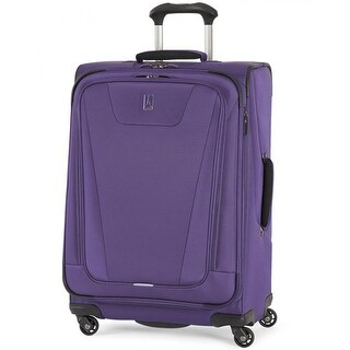 """Travelpro Maxlite 4 - Grape 25"""" Polyester Fabric Expandable Spinner w/ Water Resistant Coating"""