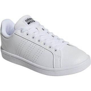 adidas Women's NEO Cloudfoam Advantage Clean Court Shoe FTWR White/FTWR White/Core Black
