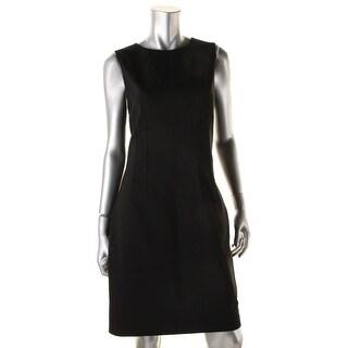 Elie Tahari Womens Emory Ponte Sleeveless Wear to Work Dress