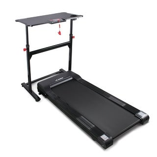 AKONZA Tabletop Electric Treadmill For Standing Walking With Adjustable Height Desk