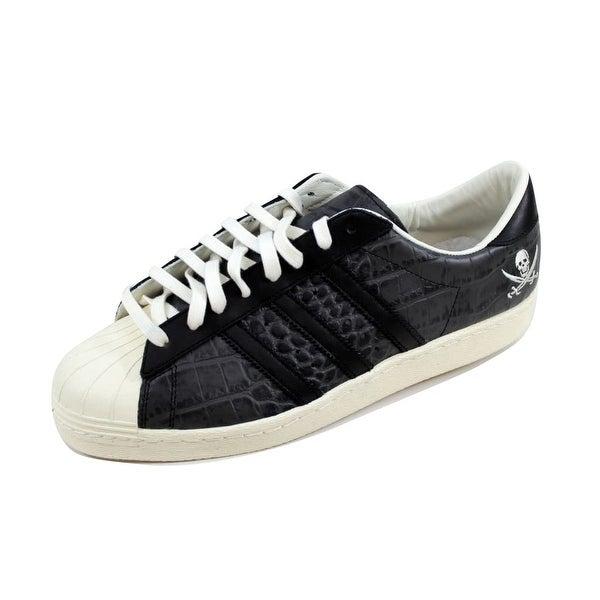 Shop Adidas Men's Superstar 80v NBHD BlackBlack White
