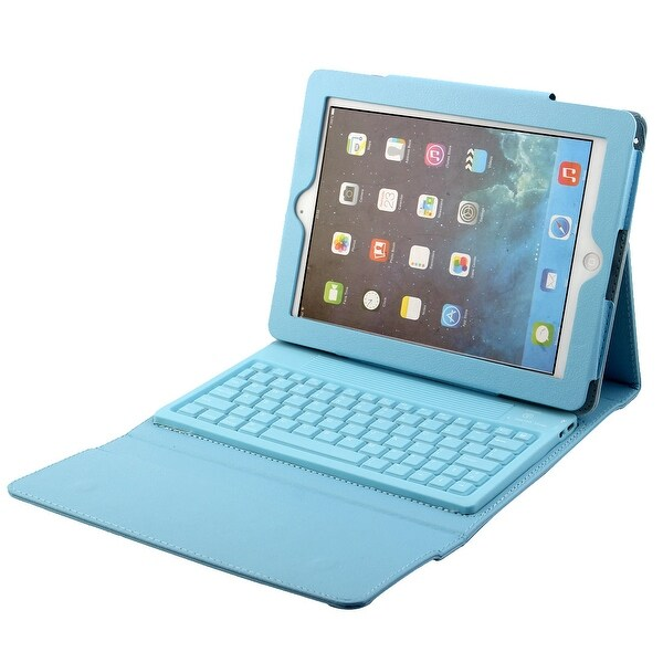 Shop Wireless Bluetooth Folding Keyboard Case Cover Sky