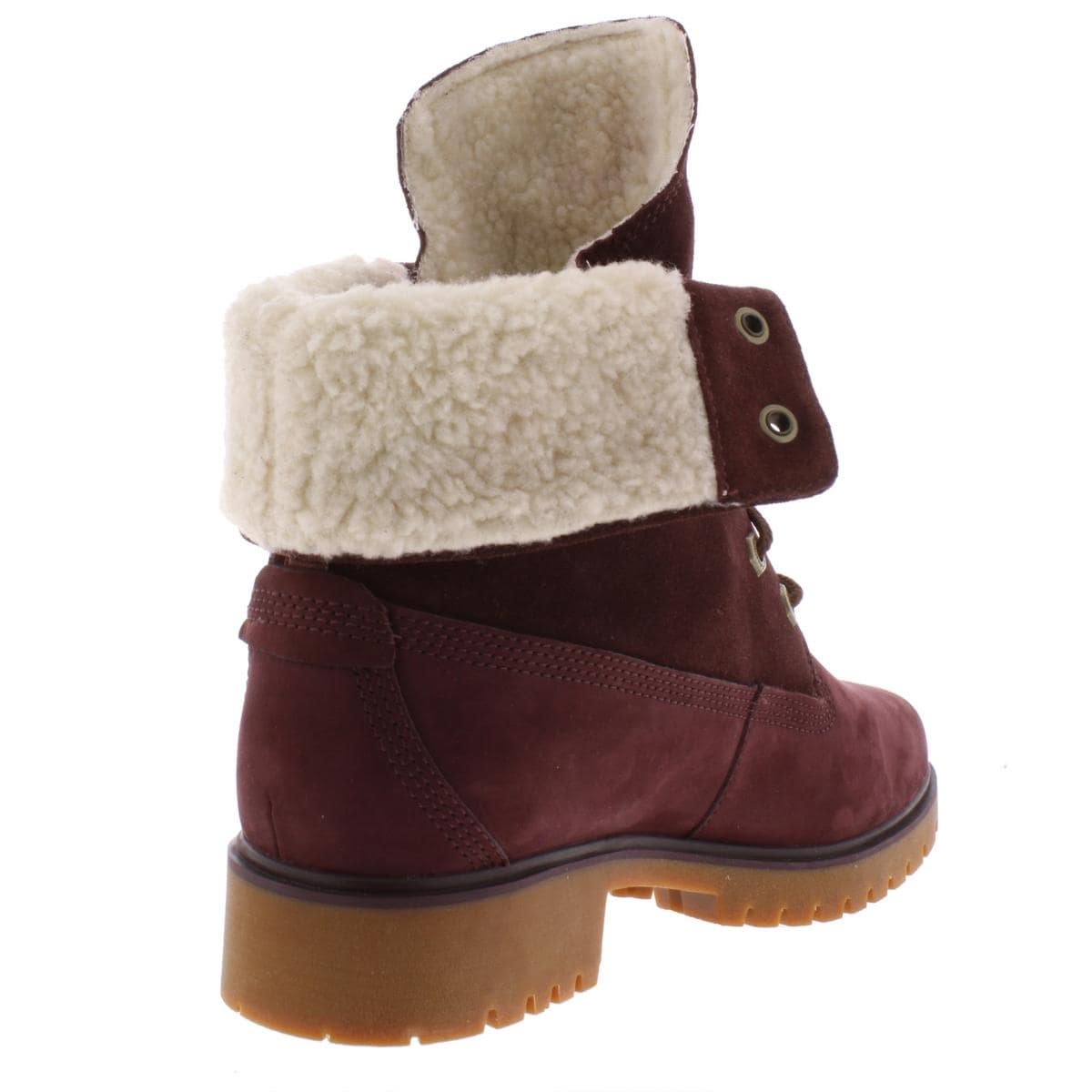 Timberland Womens Jayne Winter Boots Leather Fleece Lined