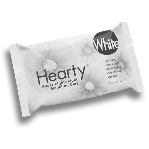 Hearty Super Lightweight Air-Dry Clay 5.25Oz