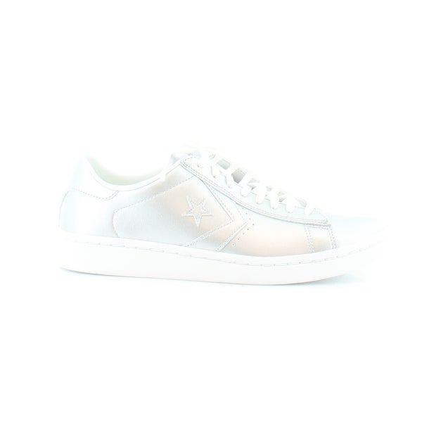Details about NEW WOMEN'S 6 CONVERSE PL LP OX WHITE & GOLD PRO LEATHER SKATE SHOES
