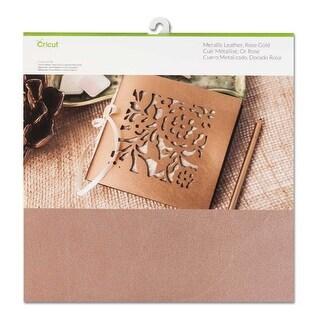 Leather Metallic Rose Gold 12X12 Cricut Maker Machine Genuine Material