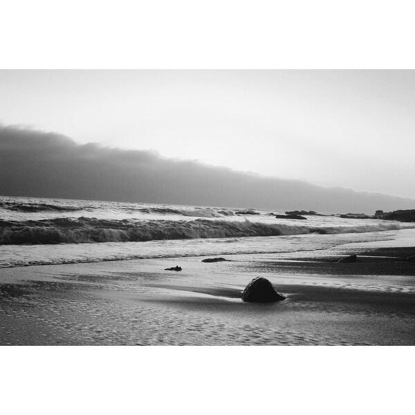 Black And White Ocean Photograph Art Print