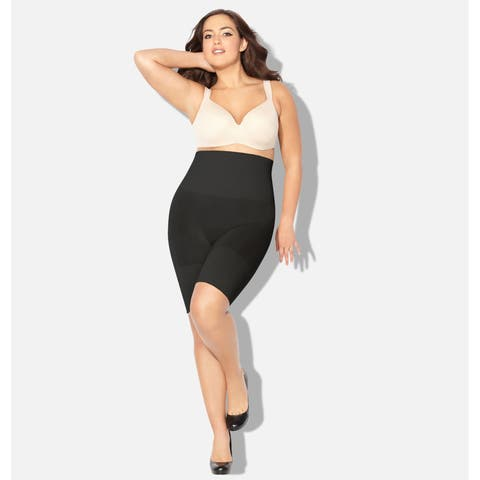 AVENUE Women's Seamless Hi-Waist Shaping Thigh Slimmer