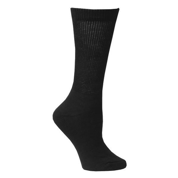 Unisex Buster Brown Wide Calf Diabetic Socks - 3 Pairs