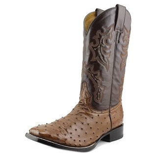 Circle G by Corral L5056 Men 2E Square Toe Leather Brown Western Boot