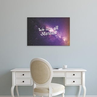 Easy Art Prints 'Stardust II' Premium Canvas Art