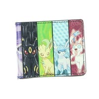 Pokemon Eevee Evolution Bi-Fold Wallet - One Size Fits most