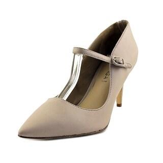 Via Spiga Camilla Pointed Toe Leather Heels