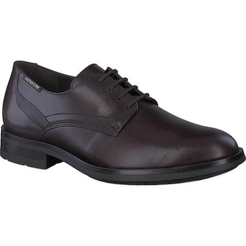 Mephisto Men's Smith Oxford Dark Brown Carnaby Smooth Leather