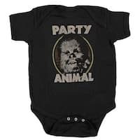 Star Wars Party Animal Chewbacca Wookie Baby Bodysuit