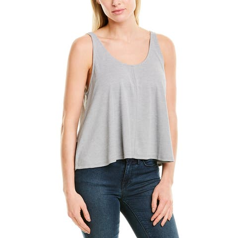 Saltwater Luxe Scoop Neck Tank - HEATHER GREY HGRY