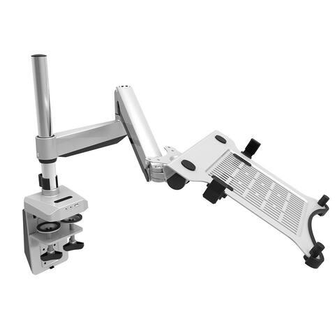 "Loctek D7P Swivel Desk Laptop Mount Notebook Arm Stand Fits 10.1""-17.3"" Notebook Height Adjustable"