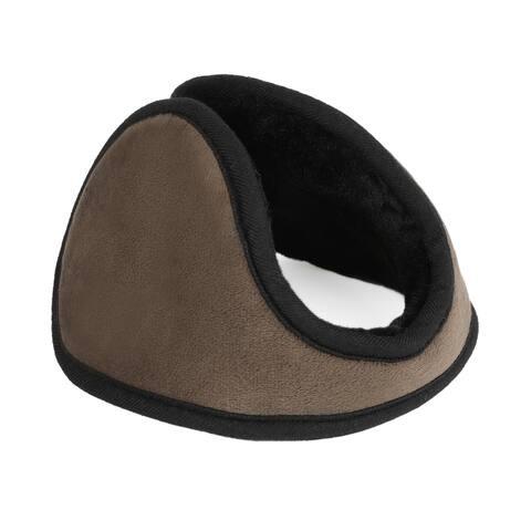 Outdoor Activities Warm Ear Earmuffs Winter for Men Women Brown