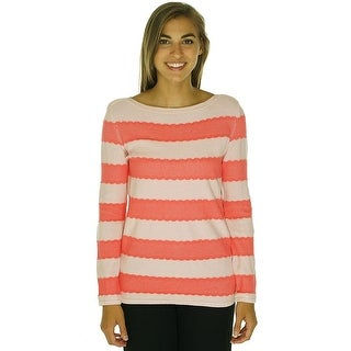 Tommy Hilfiger Long Sleeve Striped Pullover Sweater