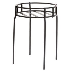 Panacea 86617 Contemporary Plant Stand - Black