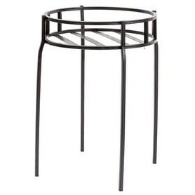 Panacea 86617 Contemporary Plant Stand - Black