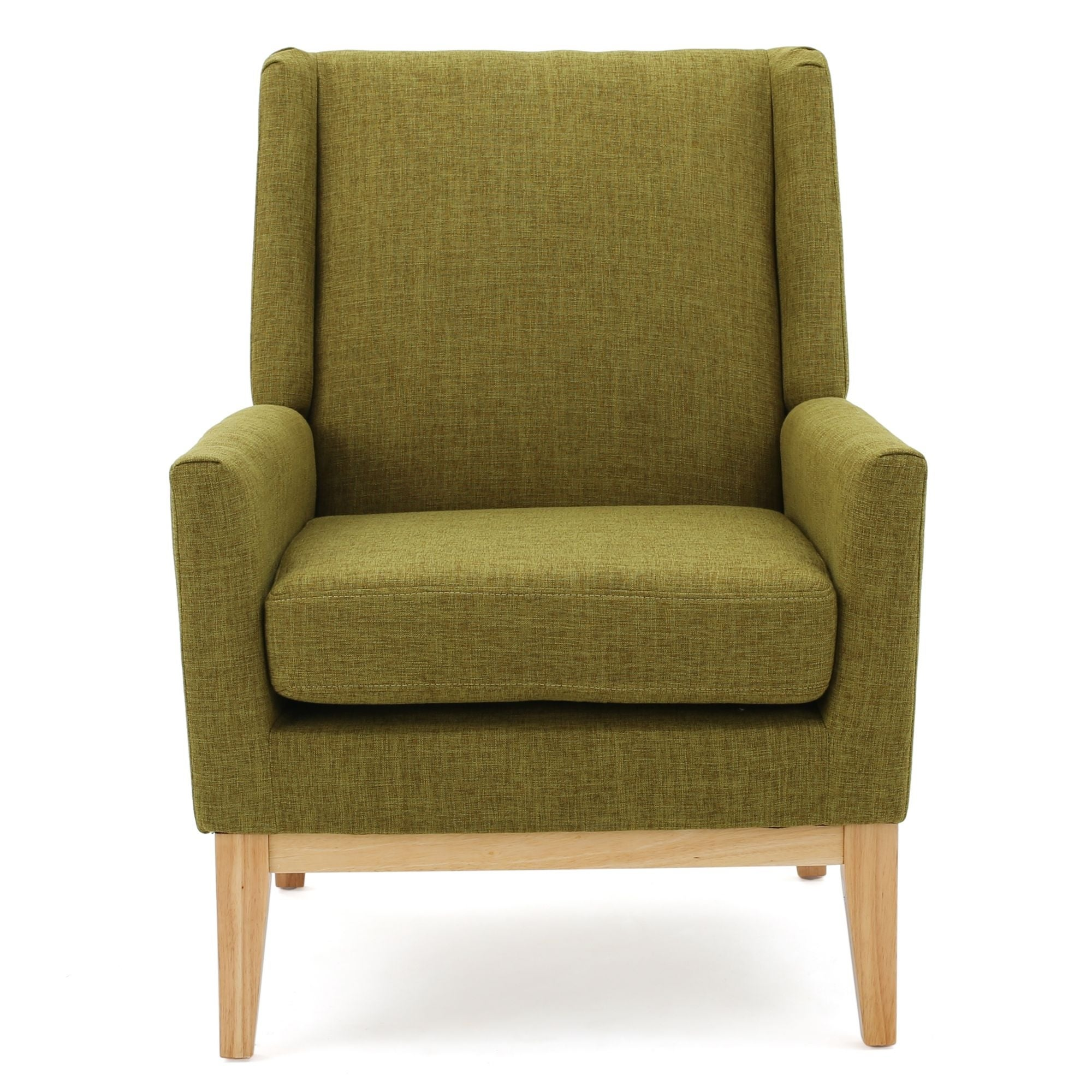 Picture of: Shop 36 50 Green And Brown Contemporary Accent Chair With Cushion On Sale Overstock 31990663