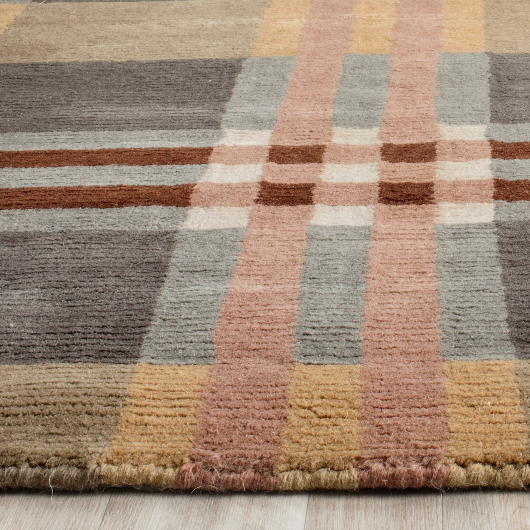 Safavieh Hand Knotted Lexington Gillette Wool Rug Overstock 6030748