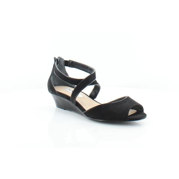Nina Rhonda Women's Sandals & Flip Flops Black