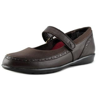 Berries By Aetrex Cocoberry Mary Jane Women  Round Toe Leather  Mary Janes