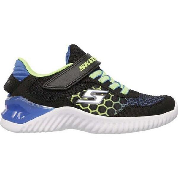 Skechers Ultrapulse-Rapid Shift Toddler Boy/'s Sneaker Black//Blue//Lime Size 6