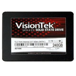 """VisionTek 240GB TLC 7mm 2.5"" Internal SSD - SATA 240 GB Internal SSD"""
