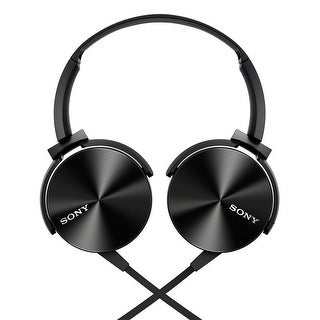Sony MDRXB450AP Extra Bass Smartphone Headset (Black)