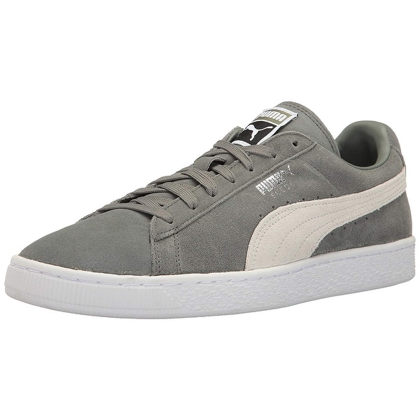 PUMA Womens 35546 01 Suede Low Top Lace Up Fashion Sneakers