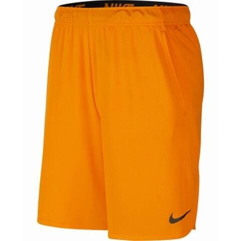 Nike Mens Activewear Bottoms Orange Size 2XL Basketball Dri Fit Athletic