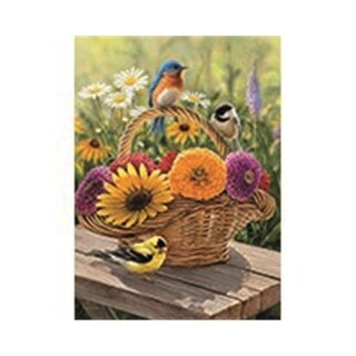 Outset Media Games Bluebird & Bouquet Puzzle Tray, 35 Piece